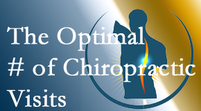 It's up to you and your pain as to how often you see the Williamson chiropractor.