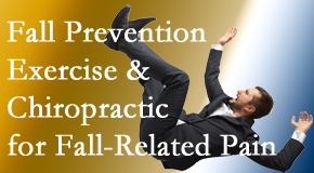Apple Country Chiropractic shares new research on fall prevention strategies and protocols for fall-related pain relief.