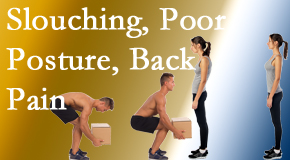 Apple Country Chiropractic gives slouching prevention advice to improve poor posture and ease related back pain and neck pain.