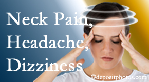 Apple Country Chiropractic helps decrease neck pain and dizziness and related neck muscle issues.