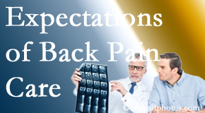 The pain relief expectations of Williamson back pain patients influence their satisfaction with chiropractic care. What is realistic?