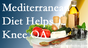 Apple Country Chiropractic shares recent research about how good a Mediterranean Diet is for knee osteoarthritis as well as quality of life improvement.