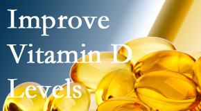 Apple Country Chiropractic explains that it's beneficial to raise vitamin D levels.