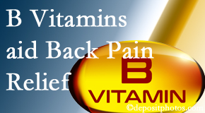 Apple Country Chiropractic may include B vitamins in the Williamson chiropractic treatment plan of back pain sufferers.