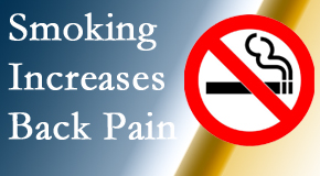 Apple Country Chiropractic explains that smoking intensifies the pain experience especially spine pain and headache.