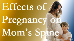 Williamson mothers are predisposed to develop spinal issues as they grow older.