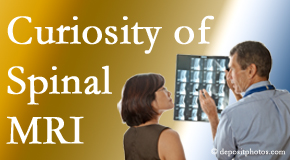 Williamson MRIs for spinal stenosis may be revealing…or puzzling.