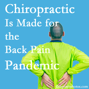 Williamson chiropractic care at Apple Country Chiropractic is well-equipped for the pandemic of low back pain.
