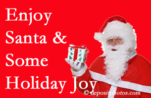 Williamson holiday joy and even fun with Santa are studied as to their potential for preventing divorce and increasing happiness.
