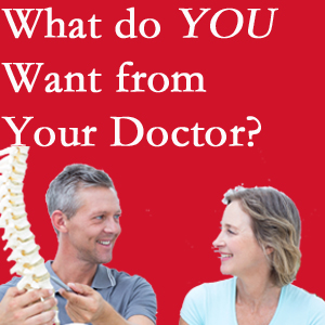 Williamson chiropractic at Apple Country Chiropractic includes examination, diagnosis, treatment, and listening!