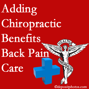 Added Williamson chiropractic to back pain care plans works for back pain sufferers.