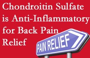 Williamson chiropractic treatment plan at Apple Country Chiropractic may well include chondroitin sulfate!
