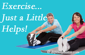 Apple Country Chiropractic encourages exercise for better physical health as well as reduced cervical and lumbar pain.
