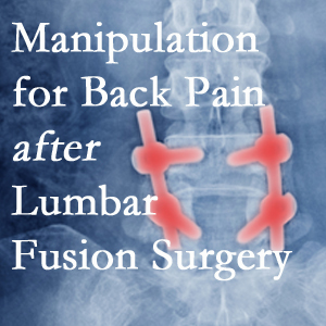 Williamson chiropractic spinal manipulation assists post-surgical continued back pain patients discover relief of their pain despite fusion.