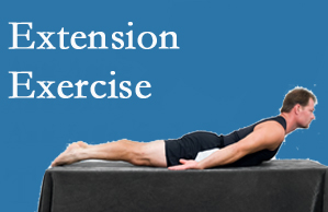 Apple Country Chiropractic recommends extensor strengthening exercises when back pain patients are ready for them.