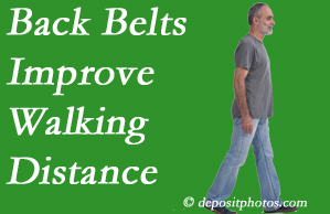 Apple Country Chiropractic sees value in recommending back belts to back pain sufferers.