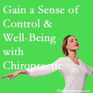 Using Williamson chiropractic care as one complementary health alternative improved patients sense of well-being and control of their health.