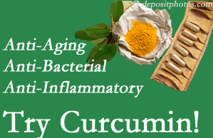 Pain-relieving curcumin may be a good addition to the Williamson chiropractic treatment plan.