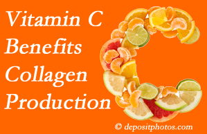 Williamson chiropractic shares tips on nutrition like vitamin C for boosting collagen production that decreases in musculoskeletal conditions.