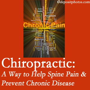 Apple Country Chiropractic helps ease musculoskeletal pain which helps prevent chronic disease.