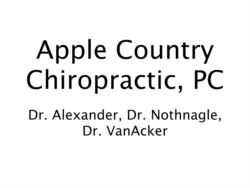 Apple Country Chiropractic